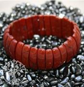 Roter Jaspis Armband