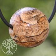 Land Jasper Ball Pendant