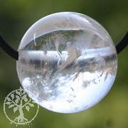 Bergkristall Kugel-Anhaenger 15mm