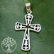 Silver Cross Pendant SIKR12