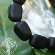 Onyx Trommelstein- Armband matt