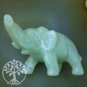 Elefant aus China Jade