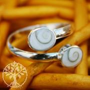 Shiva-Muschel Ring 2