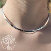 Silver Necklace 4,5mm Sterlingsilver Chocker