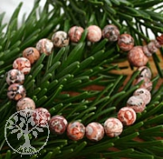 Rhyolit Armband Leoparden Jaspis Armband Pop Jaspis Buddha Bead