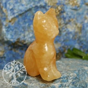 Cat Orange Calcite