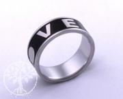 Edelstahl-Ring ER610 LOVE
