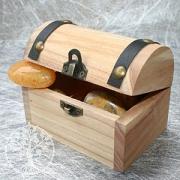 Holz Schatztruhe klein 10 Stk.