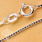 Venezianer Silberkette 45 cm 1mm Silber 925