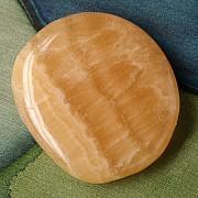 Orangencalcit Seifenstein A-Qualität