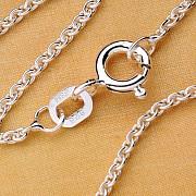 Anker Silberkette dünn 36 cm 3 Stück Silber 925 - Kinderkette