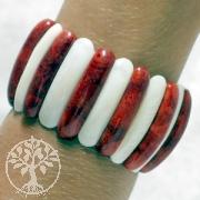 Koralle Perlmutt Armband