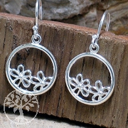 Silver Earring ETHNO 4