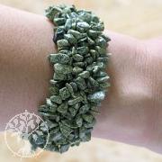 Schlangen-Jaspis Armband Polly