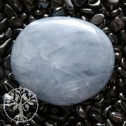 Calcit Blau flacher Stein