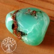 Chrysopras tumbled stone A-Quality