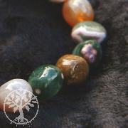 Ocean Jaspis Trommelstein - Armband