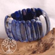 Sodalith Armband big 35mm Perlen