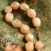 Aventurin Orange Nuggets Halskette