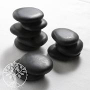 Hot Stones Massagesteine, Aufbauset 1 - 10 kleine Hotstones