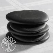 Hot Stones Massagesteine, Aufbauset 3