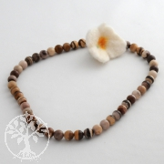 Edelstein-Perlen, Cappuccino-Jaspis 8 mm