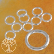 Jumpring 5 mm closed Silver 925