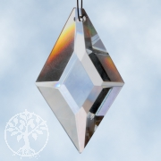 Feng Shui Crystal, rhomb, 63x43 mm