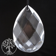 Feng Shui Crystal, drop, 76x50 mm