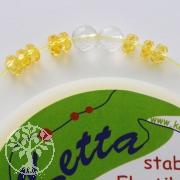 Elastic-Cord, 0,80 mm, yellow, 5 m