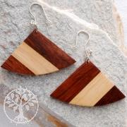 Wood Ear Pendant Butterfly 1