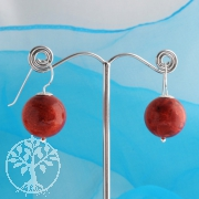 Coral Earrings big 14