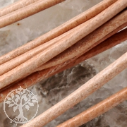 Lederbänder 80cm / 1.5mm -Standard- natur 10 Stk.