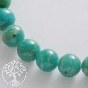 Edelstein-Perlen, Amazonit 8 mm AA