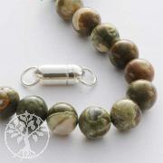 Edelstein Perlen Rhyolith 8 mm
