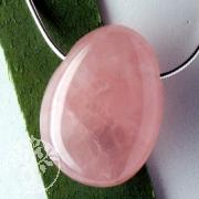 Rose Quartz Pendant AA