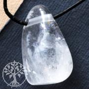 Crystal pendant triangle