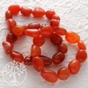Carnelian bracelet 3 pieces