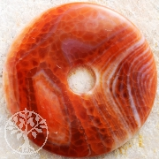 Feuer Achat Donut M 40mm