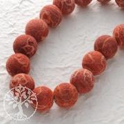 Gemstone-Beads, Coral, bead raw 20 mm