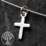 Silber Kreuz Anhänger MINI 925