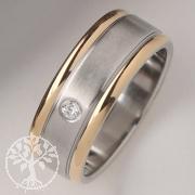 Edelstahl-Ring mit Zirkonia ER745 25-er Pack
