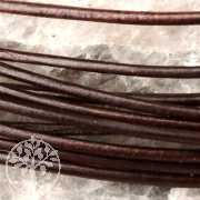 Leather ribbon goat 1,5mm chocolate