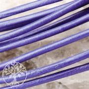 Ziegenlederband rund 1,5mm Farbe: Amethyst