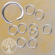 Jumpring 5.0x0.6 mm Sterlingsilver