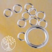 Bindering Geschlossen 4.0x0.6mm kleiner Ring für Verschluss Silber925