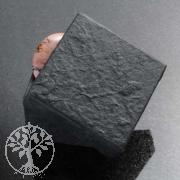 kleines Schwarzes 5,5 x 5,5 x 3,5 cm Schmuckbox