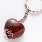 Schlüsselring rotes Herz