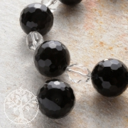 Obsidian Solitary Bead 22 mm