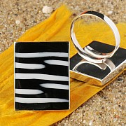 Shell Ring Square rectangle
